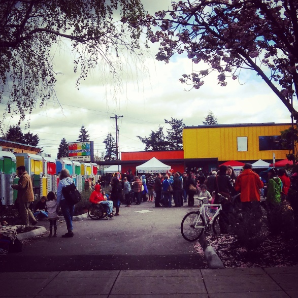 Opening Day, Portland Mercado